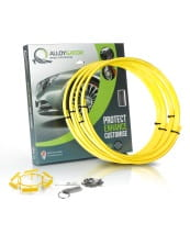 "Complete set Alloygator - Yellow 13""-21"" (1)"