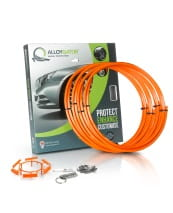 "Complete set Alloygator - Orange 13""-21"""
